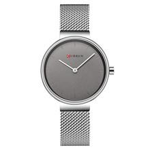 CURREN синие наручные часы женские часы люксовый бренд стальные Дамские Кварцевые женские часы 2018 спортивные Relogio Feminino Montre Femme(Китай)