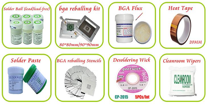 BGA accessories