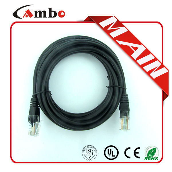 waterproof utp cat5e outdoor cable cat6 cable with boot UTP/FTP/SFTP 24AWG CCA/CU with RJ45 patch cord 1m,2m ,3m 5m,10m
