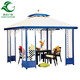 Manufacturer direct wholesale bali style strong winds proof gazebo