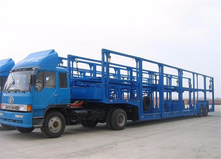 China car carrier vehicle transport truck trailer