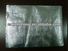 heat insulation double side aluminum foil woven fabric for insulation