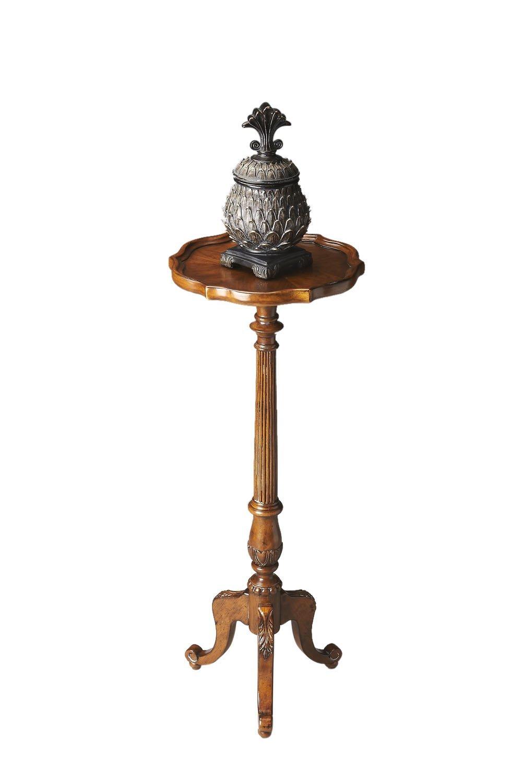 Incroyable Pedestal Plant Stand Vintage Oak Moderate Furniture