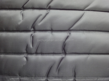 100% polyester 210T taffeta quilted fabric padding quilting fabric