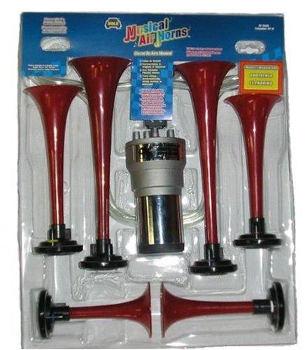 ALMA Llanera 6 Trumpet Musical Air Horn Kit-NEW