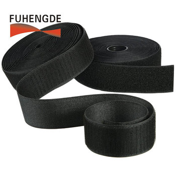 Custom 5 8 Inch Sawable Rough Soft Hook Loop Strap Roll For Covering Loose Cables