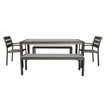 Patio Plastic Gesetzt Aluminium Gartentisch Stuhl Buy Gartentisch