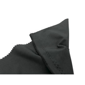 Economical custom design black polyester fabric antistatic polyester fabric