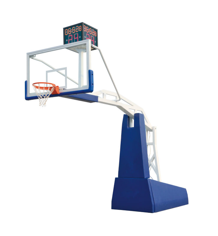 Professional Basketball Training Equipment Hydraulic Basket ball Hoop For Sale