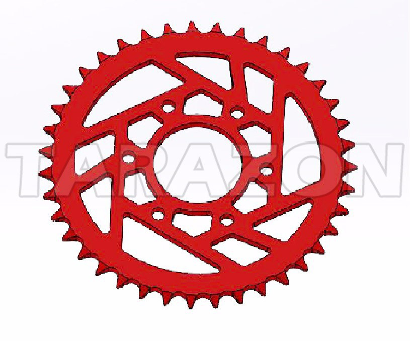 On Road Racing bike 7075 aluminum Rear Chain Sprocket for Bajaj Pulsar 200NS