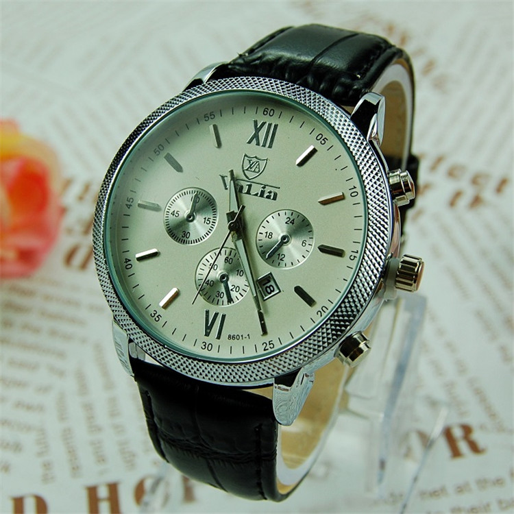 Chinese Wholesale Man Wrist Watch Retro Charm Men Leather Watch