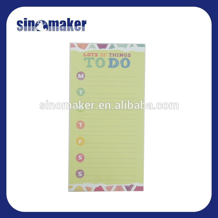 office stationery hots sale printing your own brand notepad