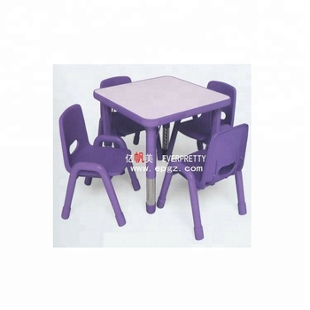 Bébé Maternelle Meubles Enfants Réglable En Hauteur Table,Vente Pas Cher En  Plastique Tables Et Chaises - Buy Table Réglable En Hauteur Pour ...