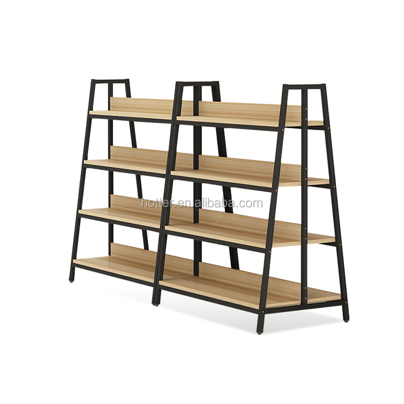 Multi-functional supermarket shelf Department store display rack