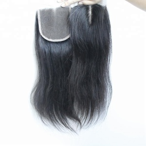 Qingdao Factory Wholesale Cheap Price Large stocks hair weave ear to ear lace closures