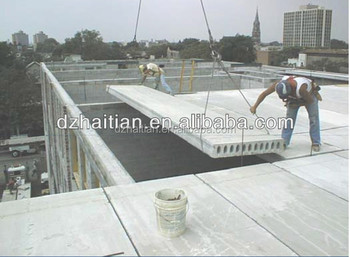 Prefab Concrete Houses Precast Concrete Slab Machine View