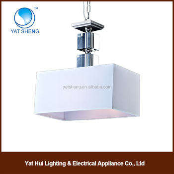 Simple White Hanging Shop Lights Pendant Lantern Lighting