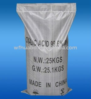 industrial oxalic acid 99.6% min China Factory