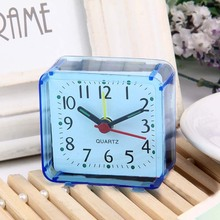 Stylish minimalist design square Imitation crystal clock