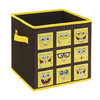 Customer Design kids collapsible fabric toy storage box
