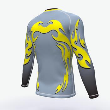 d62e9a62 Custom Sublimated Fitness Compression Shirt Mma Blank Rash Guard ...