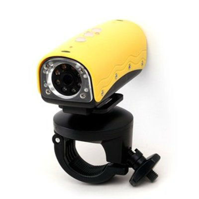 Winait's HD 1080p waterproof sport bike camcorder with 20M water resistant