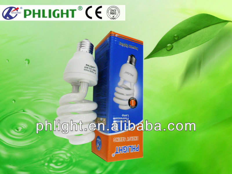 2013 New 25W Half Spiral CFLs for Outdoor Lighting