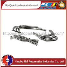 Better fuel mileage with improved combustion stainless motorcycle exhaust header