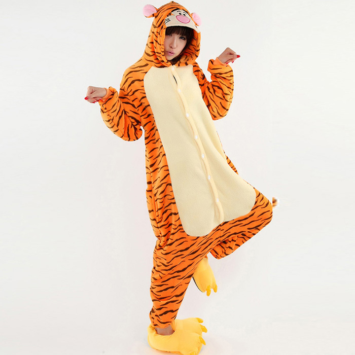 buy new arrival tigger costumes for women halloween pajamas mikuhatsune cosplay clothes fancy dress animal onesies for adults in cheap price on malibaba