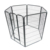 Heavy duty large outdoor pet fence