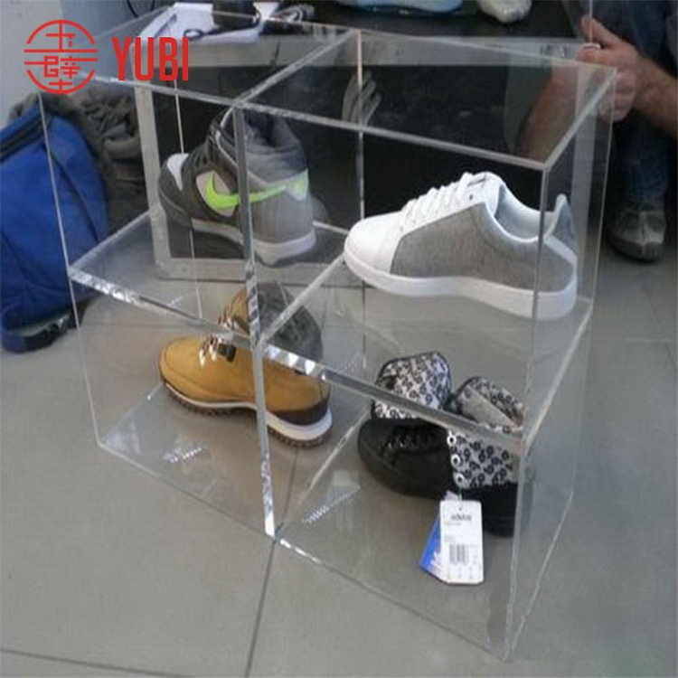 Top Grade Best Selling Clear Acrylic Shoe Boxes With Cover