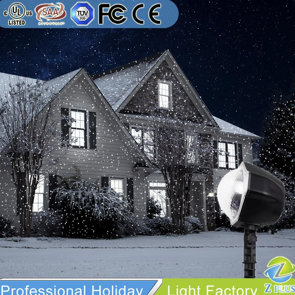 Fancy Garden decor outdoor led falling snow <strong>lights</strong>