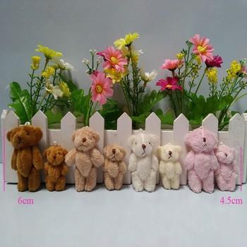 Centimetri a cm centimetri mini farcito snodato orso teddy