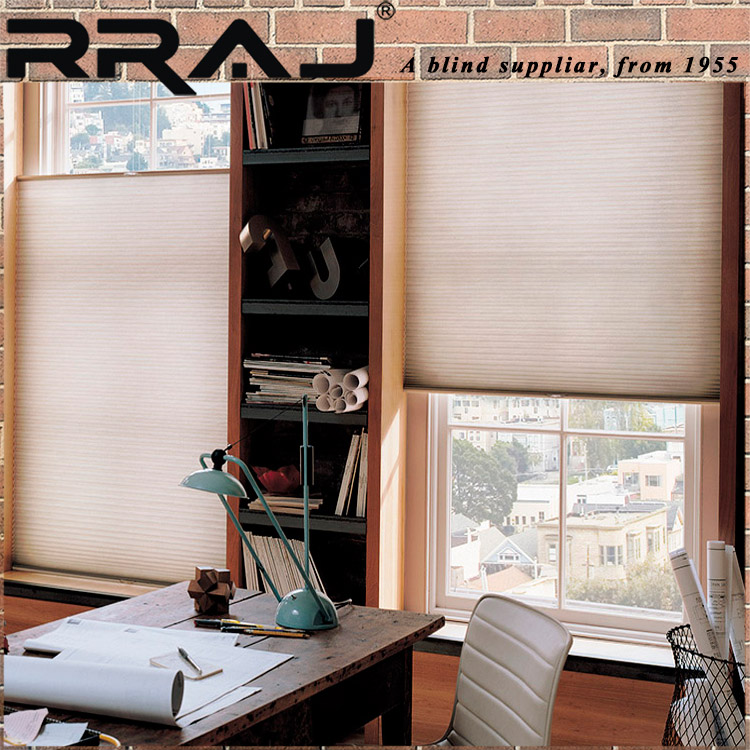 RRAJ Circle Cellular Blinds Top down Bottom up Window