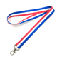 2018 cheap bulk secondary color dye sublimated medal lanyard