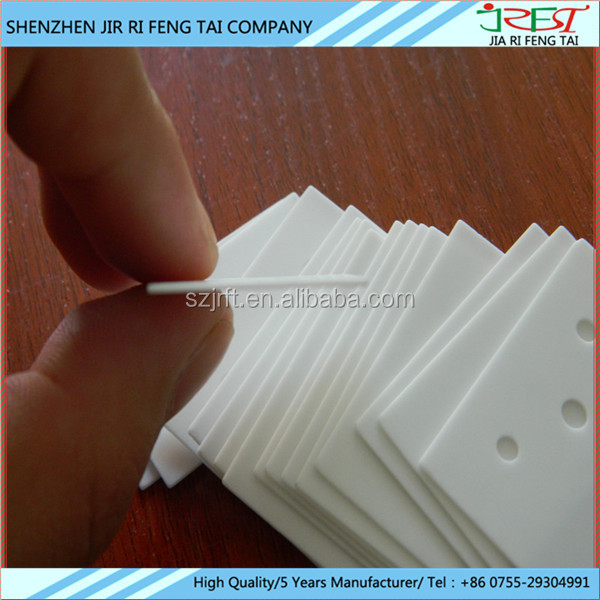 High Alumina With Excellent Insulation Properties 95% Alumina / AL2O3 Ceramic Thin Plate / Alumina Ceramic Substrates