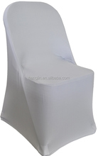 folding spandex chair covers , elastic chair covers for fold chairs , 100% polyester lycra chair covers