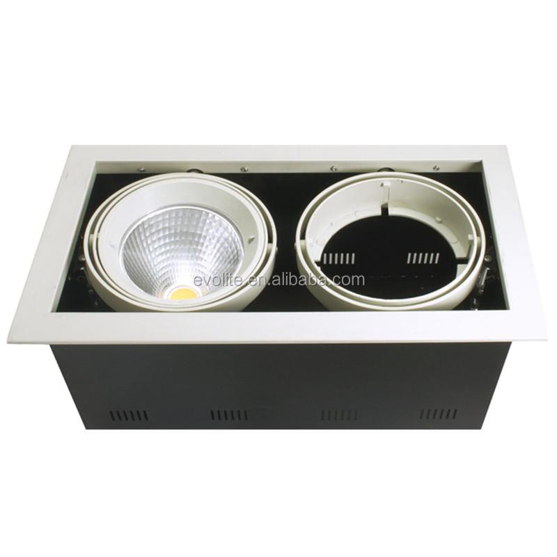 led square downlight ar111 spot light led recessed downlight