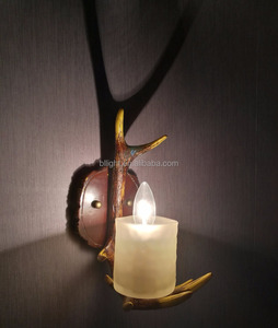 Design resin wall lamp deer antler chandelier BLLJ-002