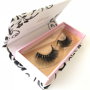 Wholesale mink fur eyelash Miami mink eyelashes 3d mink lashes