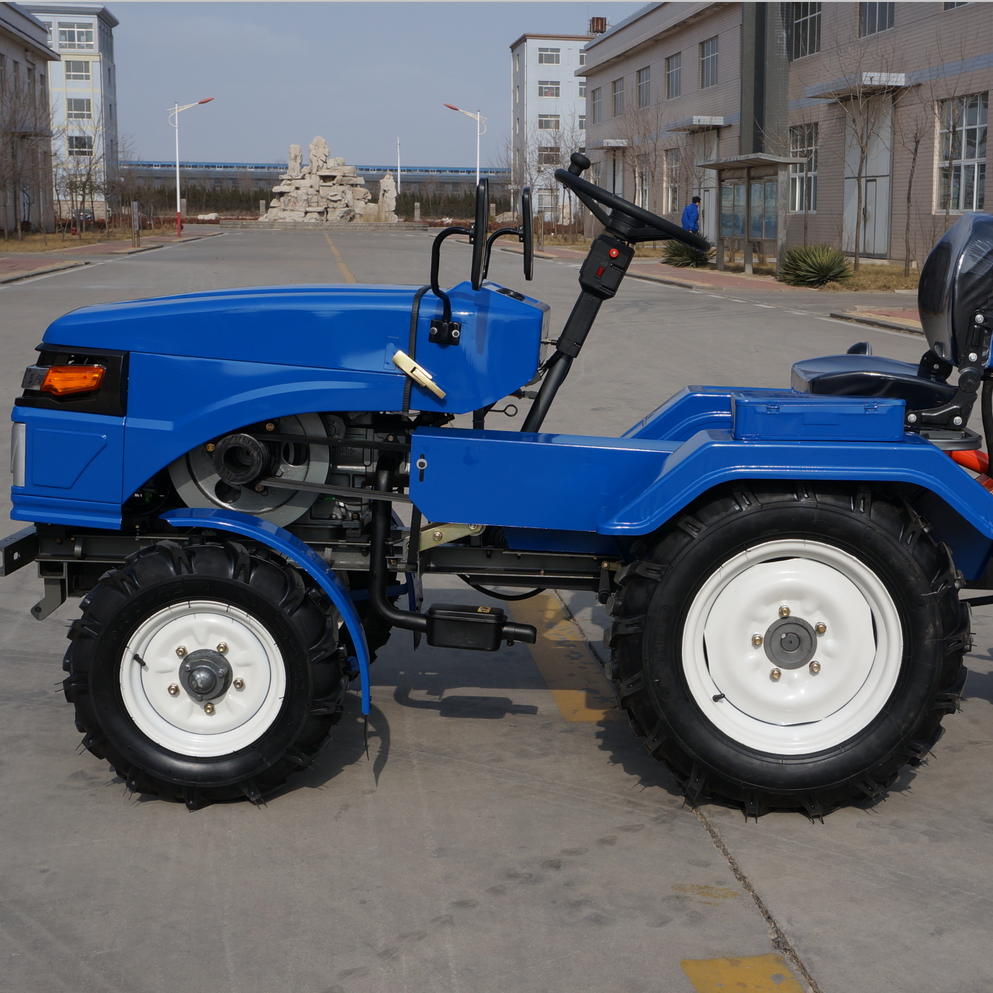 2018 New Style ZUBR New Design Mini Four Wheel Tractor 15HP 18HP
