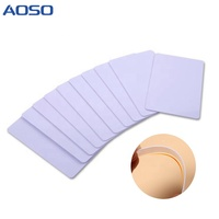 Cheap Wholesale Price Printable Plastic White Blank PVC Card With Magnetic Stripe IC ID Smart Chip