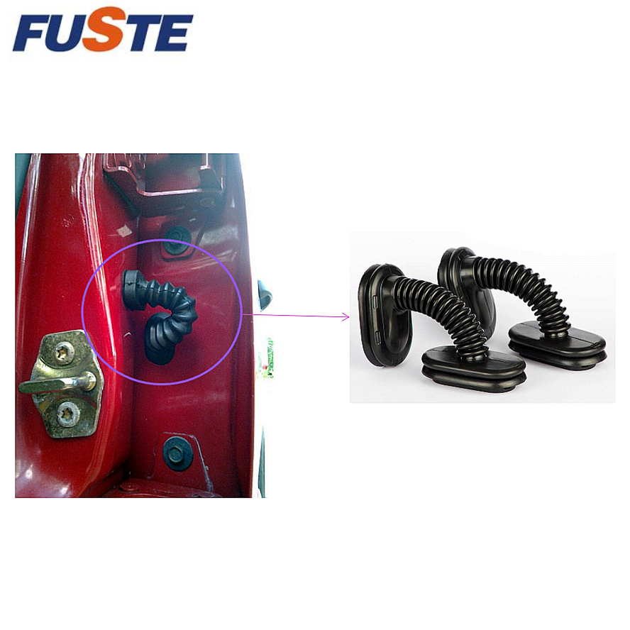 Rubber wire harness grommet for auto door door loom grommet & a6 c5 door loom accordian boot bracket removed  at mifinder.co