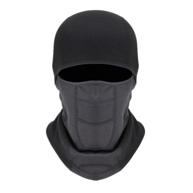 Balaclava Cara cheia Máscara De Esqui No Inverno À Prova de Vento Fleece Máscara Motocicleta