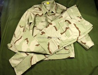 Hot sale rip-stop camo 3 color desert military uniform america