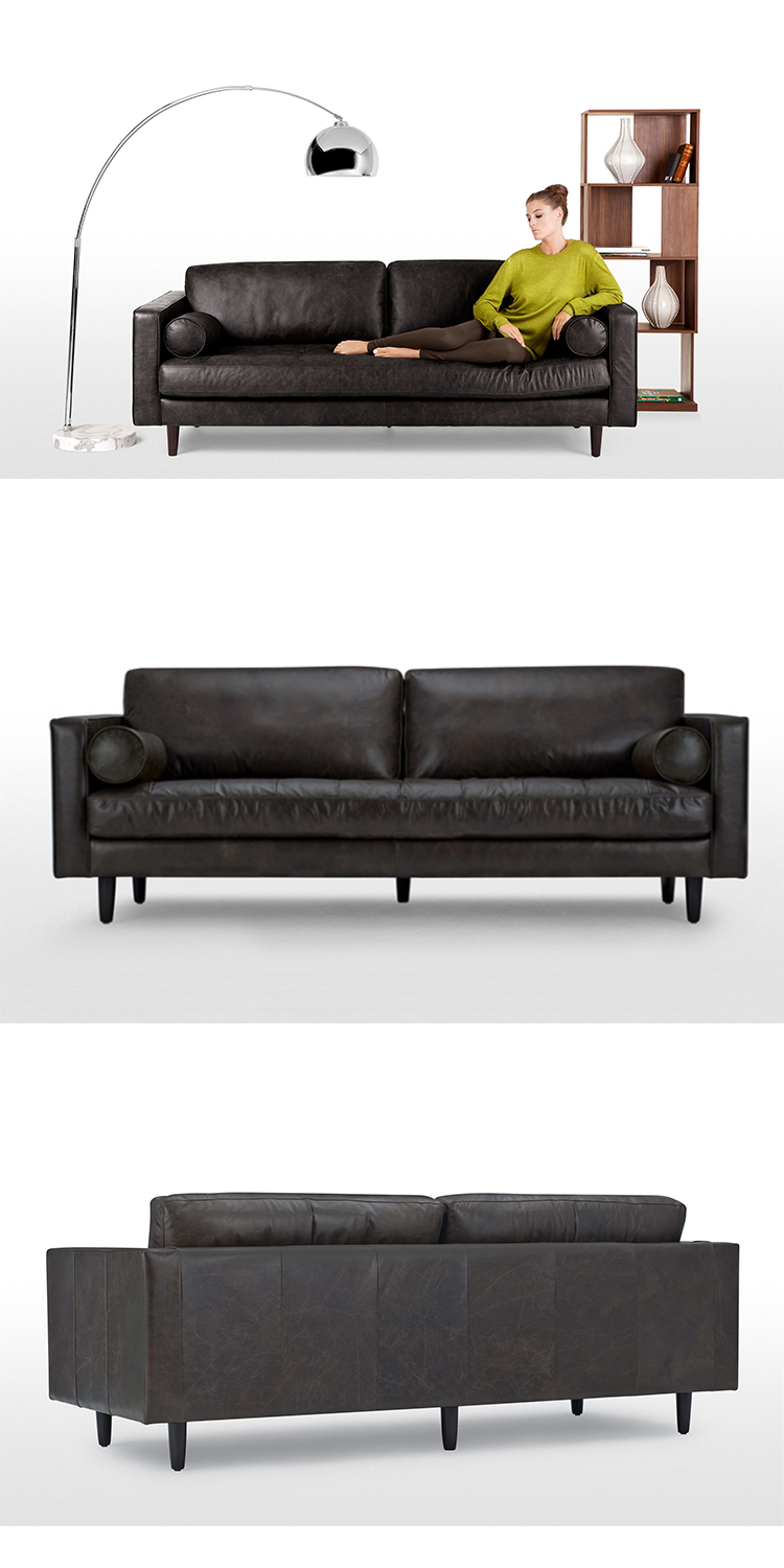 vintage black leather sectional 3 seater sofa dimensions sofa set price