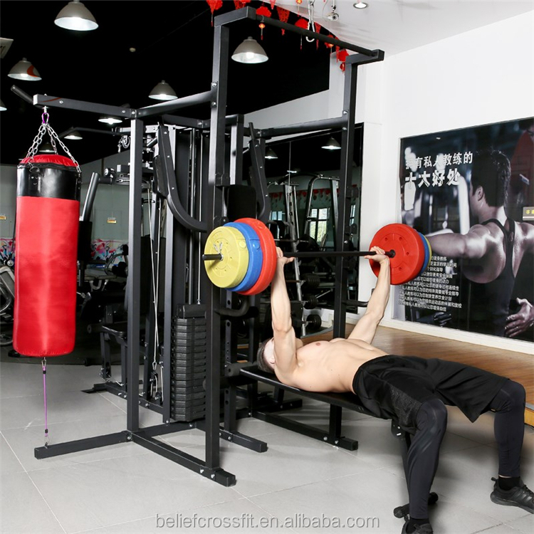 2019 Hot Sale Multifunctional Gym Equipment Power Rack
