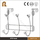 Most popular stainless steel door decoration display hook to hang clothes