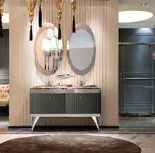 belleza diseo de mueble de bao de acero inoxidable bao utilizado gabinetes de la vanidad de