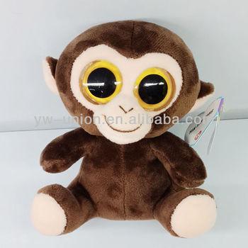 Big Eyes Stuffed Monkey Plush 13cm Soft Small Toys Monkey - Buy ... 3dc122ce8c3d